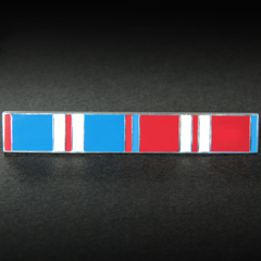 Enamel Ribbon bar for the QE2 Golden and Diamond Jubilees