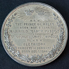 1863 Royal Wedding Medallion (2)