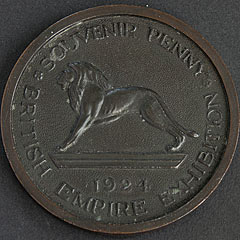 1924 Empire Exhibition Souvenir Penny