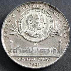 Naval and Military Exhibition 1901 Medallion