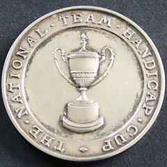Rifle Club silver medallion 1939