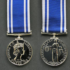 Police LSGC Queens Crown Medal