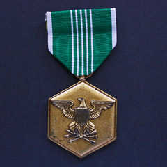 Commendation Medal - Army Military Merit