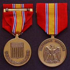 USA National Defense Service Medal