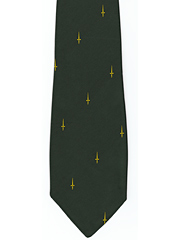 3 and 41  Commando Royal Marines logo tie