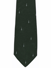 40 Commando Royal Marine Logo Tie