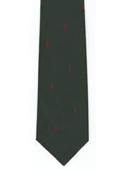45 Commando Royal Marines logo tie