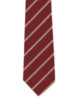 Duke of Wellingtons Regiment gold striped tie