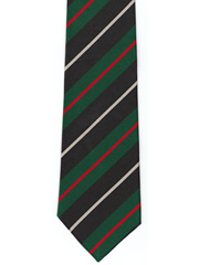 Royal Irish Rangers Striped Tie