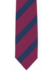 Royal Welch Fusiliers Striped Tie