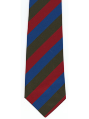 The Royal Welsh Striped Tie