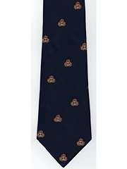 Royal Navy Cap Badge logo tie