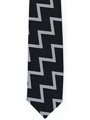 Fleet Air Arm zig zag striped tie