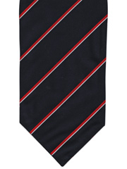 Royal Navy striped cravat