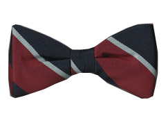 RAF striped bow tie