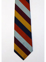 RAF Regiment striped tie