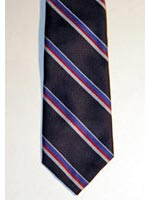 RAF Association striped tie