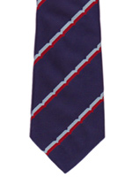 RAF Volunteer Reserve striped tie