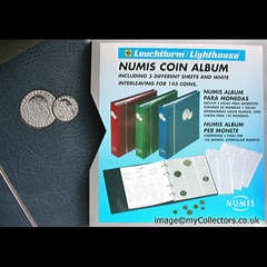 Numis Coin Album - Blue