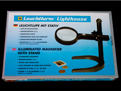 Illuminated Magnifier with Stand