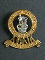15th-19th The King's Royal Hussars Cap Badge