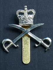 Army Physical Training Corps (QC) Cap Badge