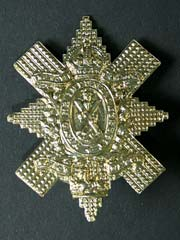 The Black Watch Cap Badge