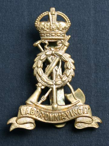 Product Royal Pioneer Corps Kc Cap Badge From The