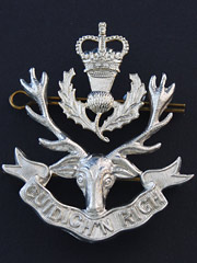 Queens Own Highlanders Cap Badge