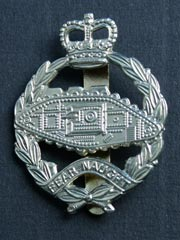 Royal Tank Regiment (QC) Cap Badge
