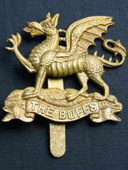 Buffs Regiment Cap Badge