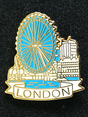 London Eye Lapel Badge