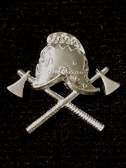 Fire Brigade Lapel Badge