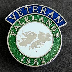 Falklands War 1982 Veterans Badge