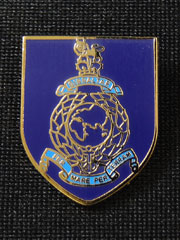 Royal Marines Shield Lapel Badge