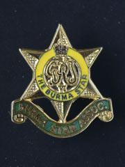 Burma Star Association lapel badge