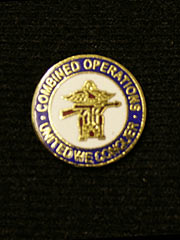Combined Operations Lapel Badge