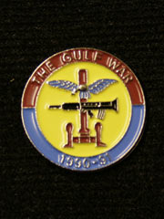 Gulf War 1990-91 lapel badge