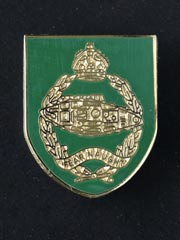Royal Tank Regiment lapel badge