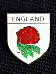 England Rose lapel badge