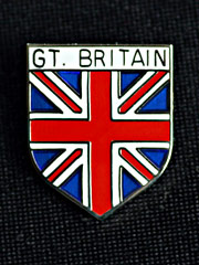 Great Britain lapel badge