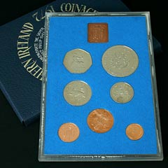 1972 Royal Mint Proof Coin Year Set