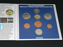 Royal Mint 1984 Uncirculated Coin Set