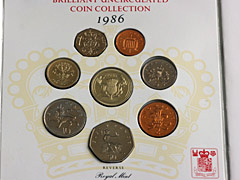 1986 UK Uncirculated coin collection