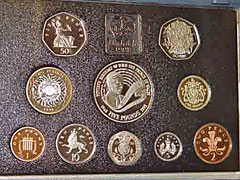 1998 Royal Mint Proof Coin Set