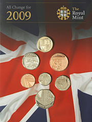 2009 Royal Mint British Coin set