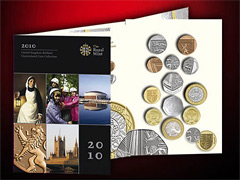 2010 Royal Mint Coin Year Set