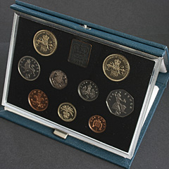 1989 Royal Mint Proof Coin Year Set