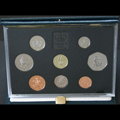 1990 Royal Mint Proof Coin Year Set