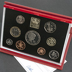 1999 Royal Mint Proof Coin Set